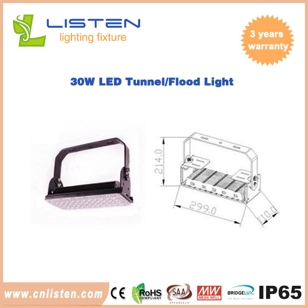 Led tunnel light sosen/meanwell driver anti-lighting/anti-interference