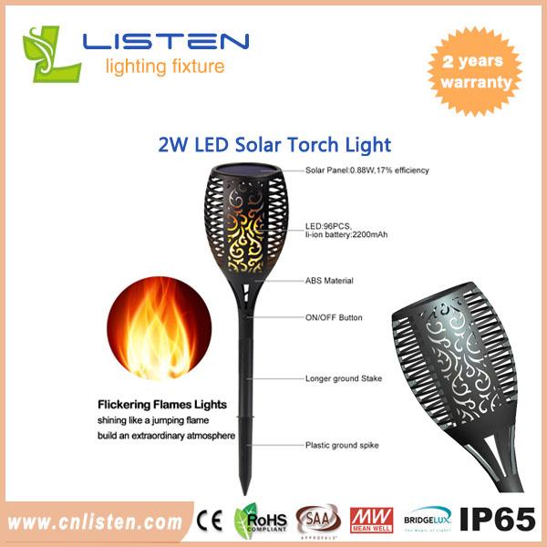 Outdoor waterproof led solar torch light dancing flame flickering led solar torch light led solar torch light aloadofball Images