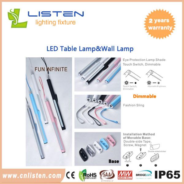 Bright Led Table Lamp Led Wall Lamp Flexible Computer Lamp Laptop Pc Desk Book Reading