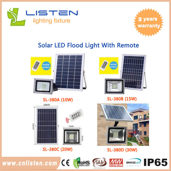Outdoor solar flood light with remote control and light control 10w solar flood light with remote aloadofball Images
