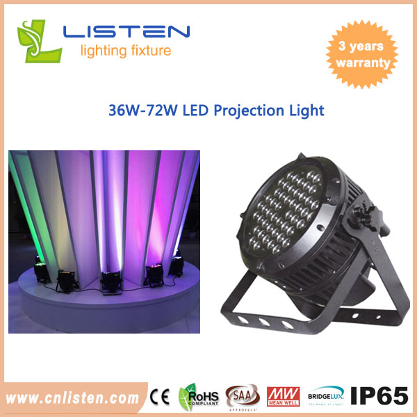 36W-72W led projection light