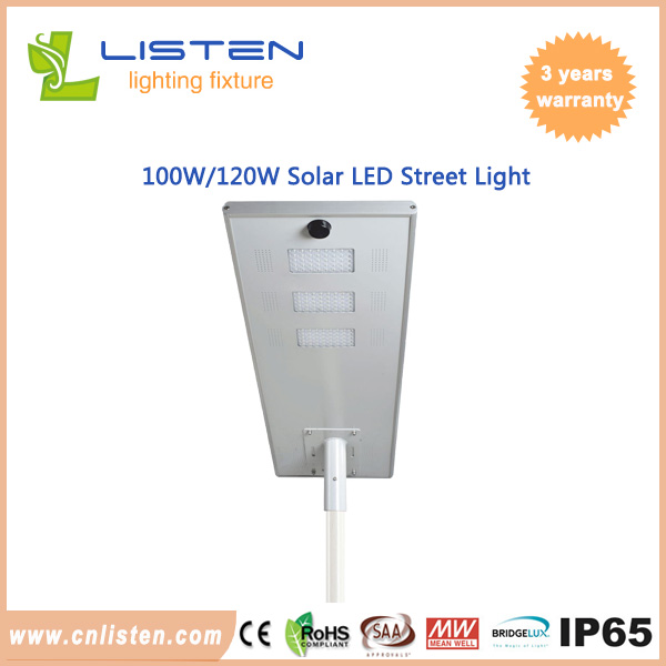 100W/120W solar street light AIO