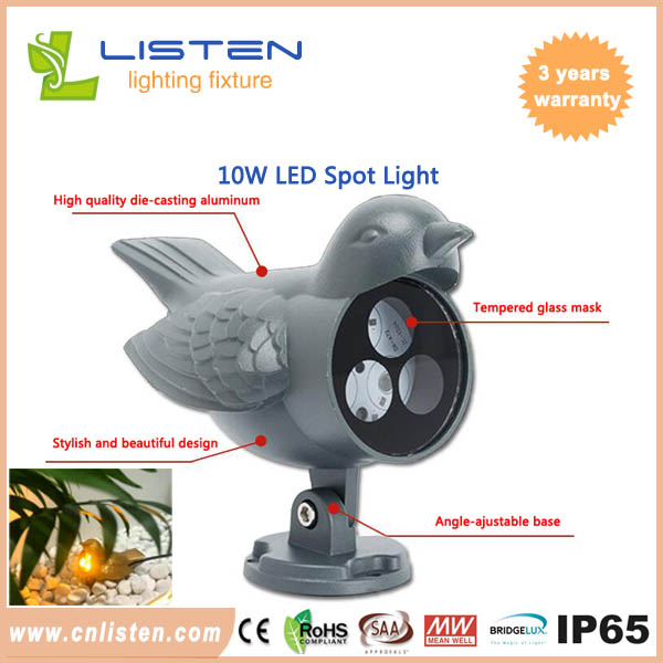 LED spot light outdoor lawn light COB flood light 3-30W