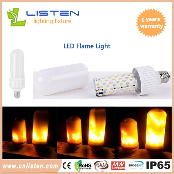 3W 6W 6.5W 7W E27 E14 B22 LED Burning Light Flicker Flame Fire Bulb Christmas Decor Lamp